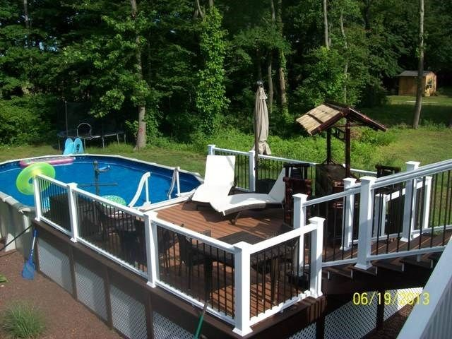 Second Story To The Pool Picture 1239 Decks Com