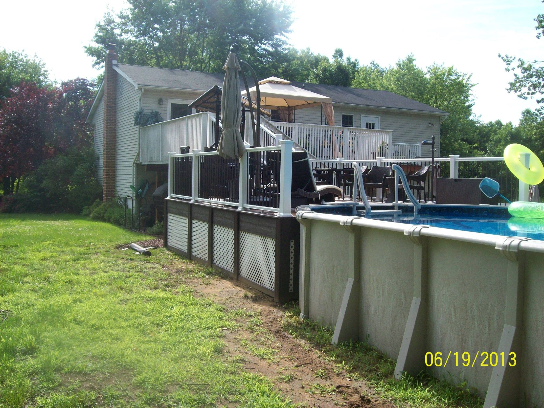 Second story to the Pool - Picture 1242