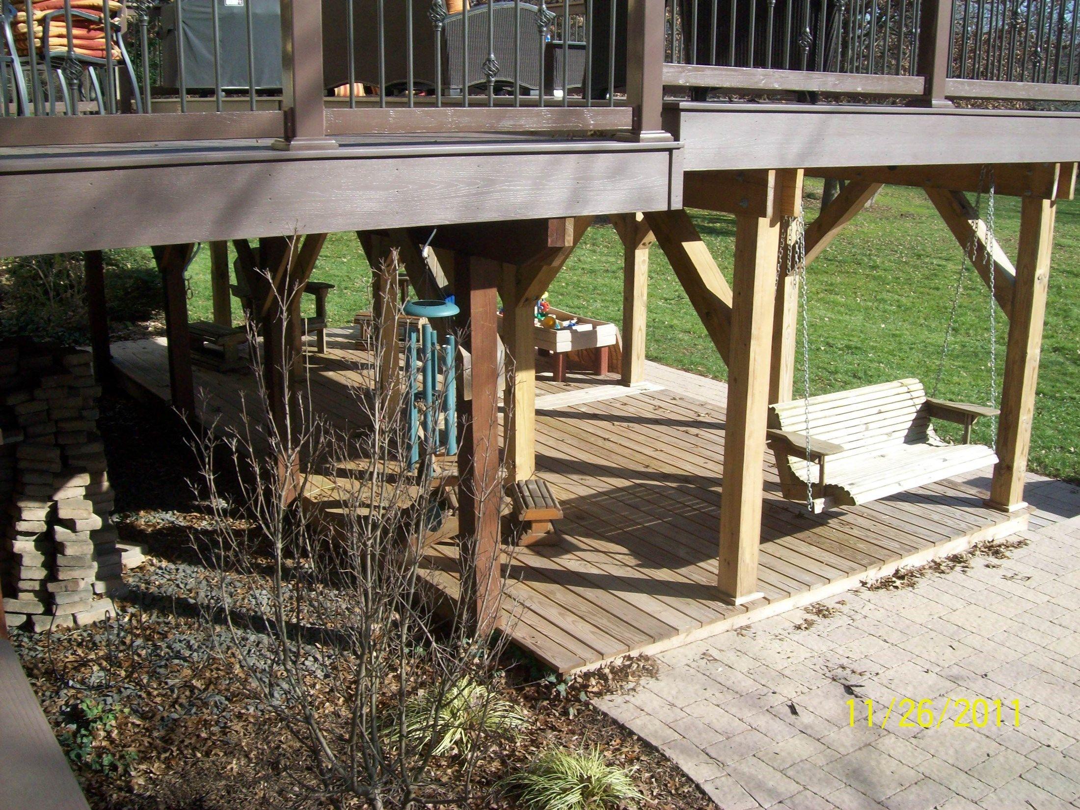 Deck under Deck - Picture 1246