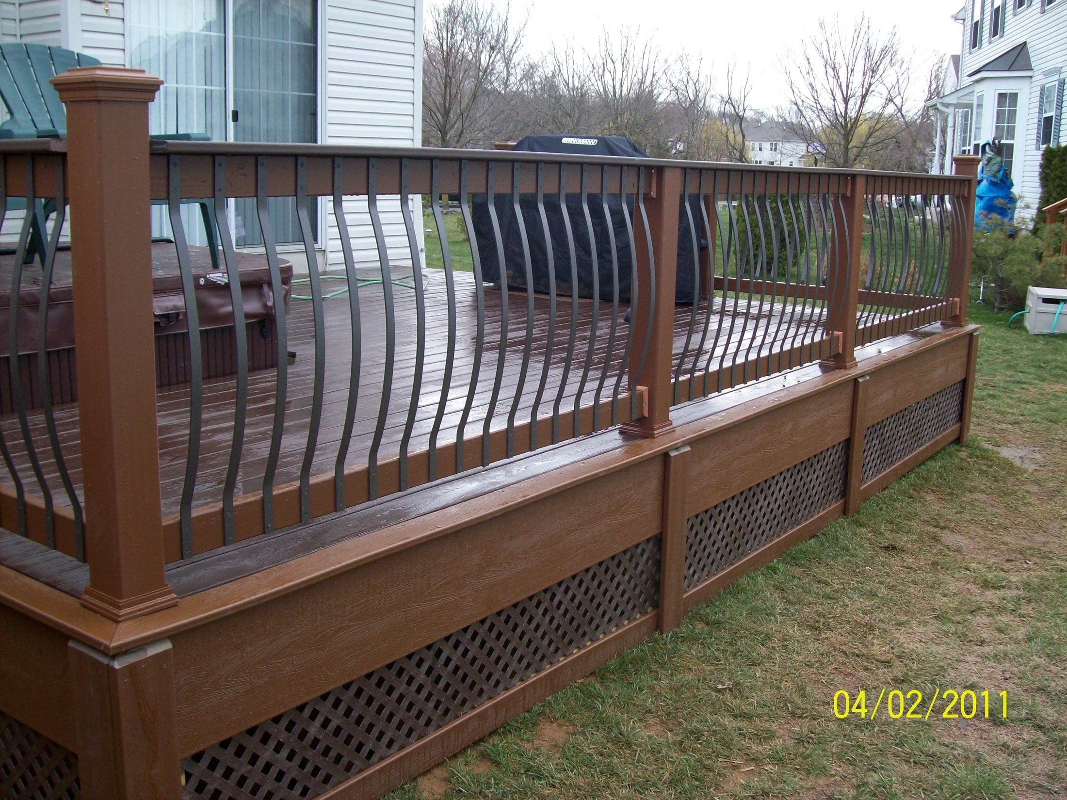 Custom Railing in Burlington NJ - Picture 1248