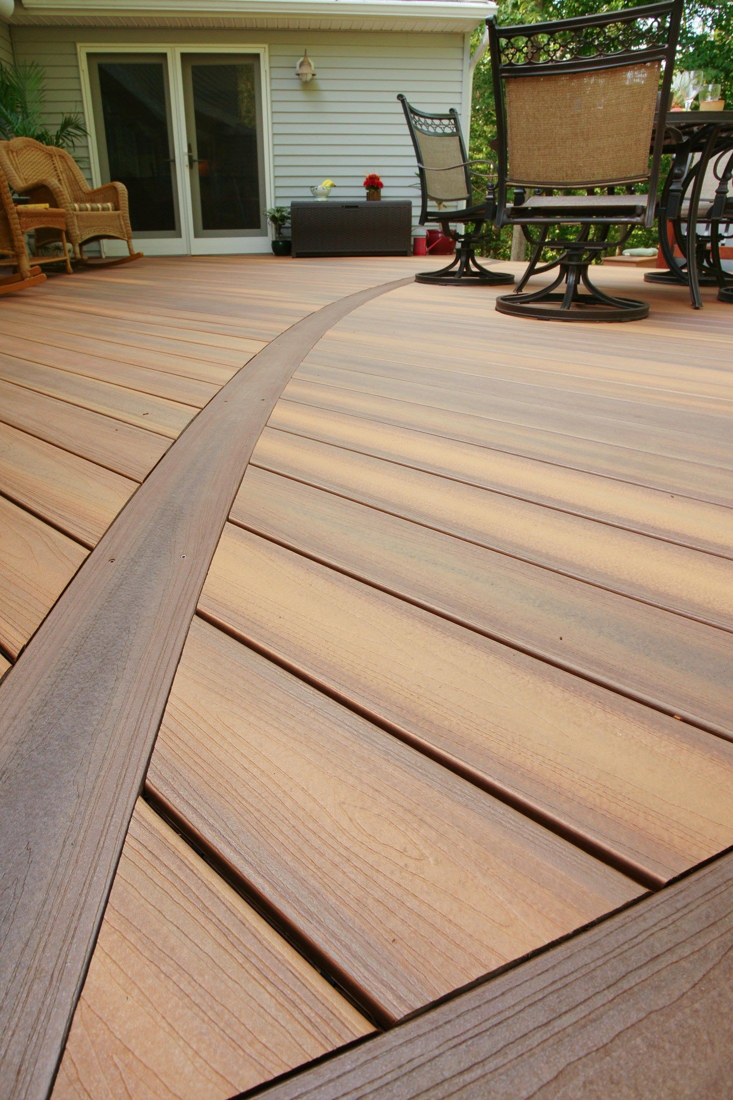 Davidson curved deck - Picture 1411