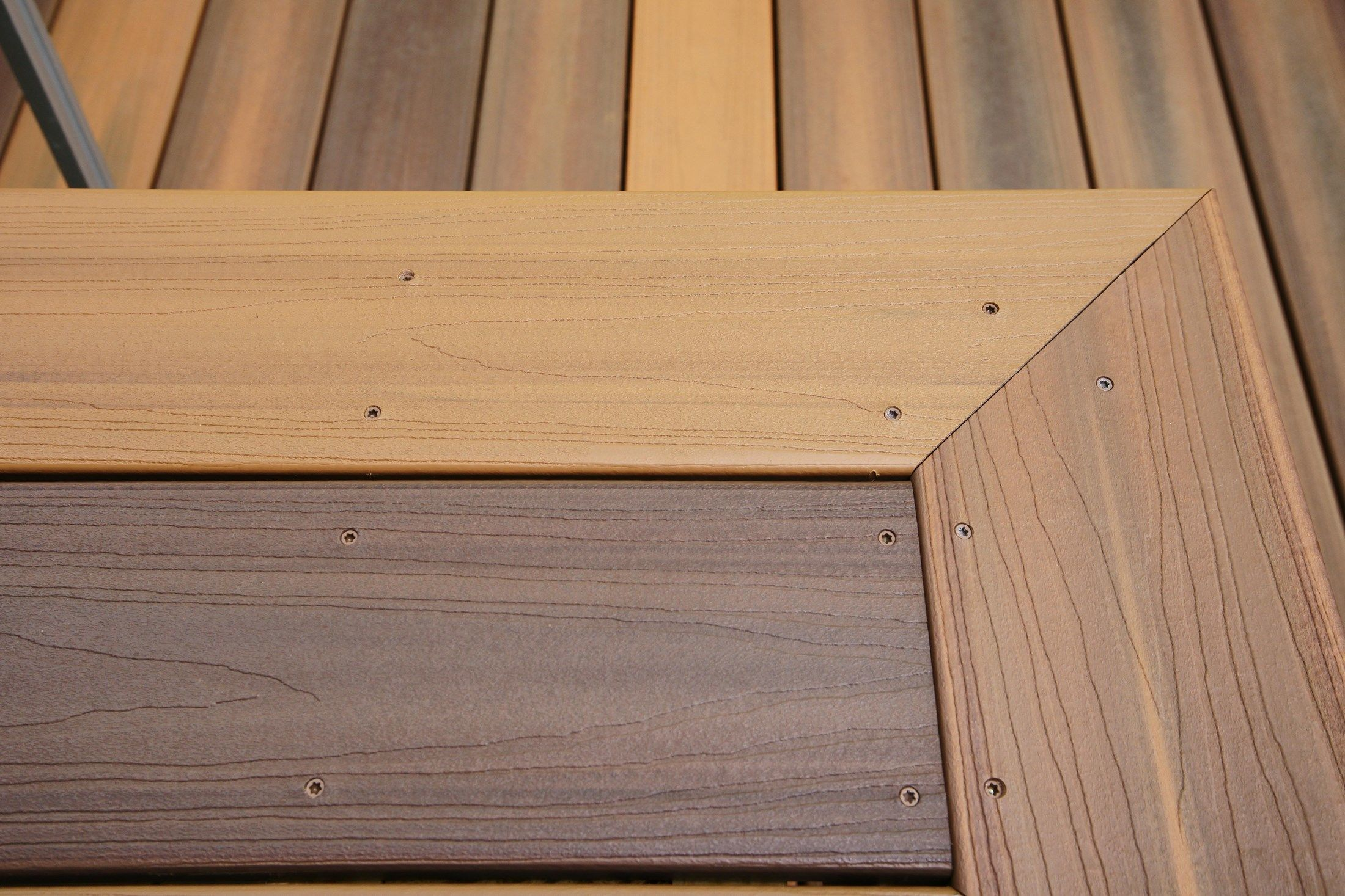 Composite decking material review for Hardwood decking planks