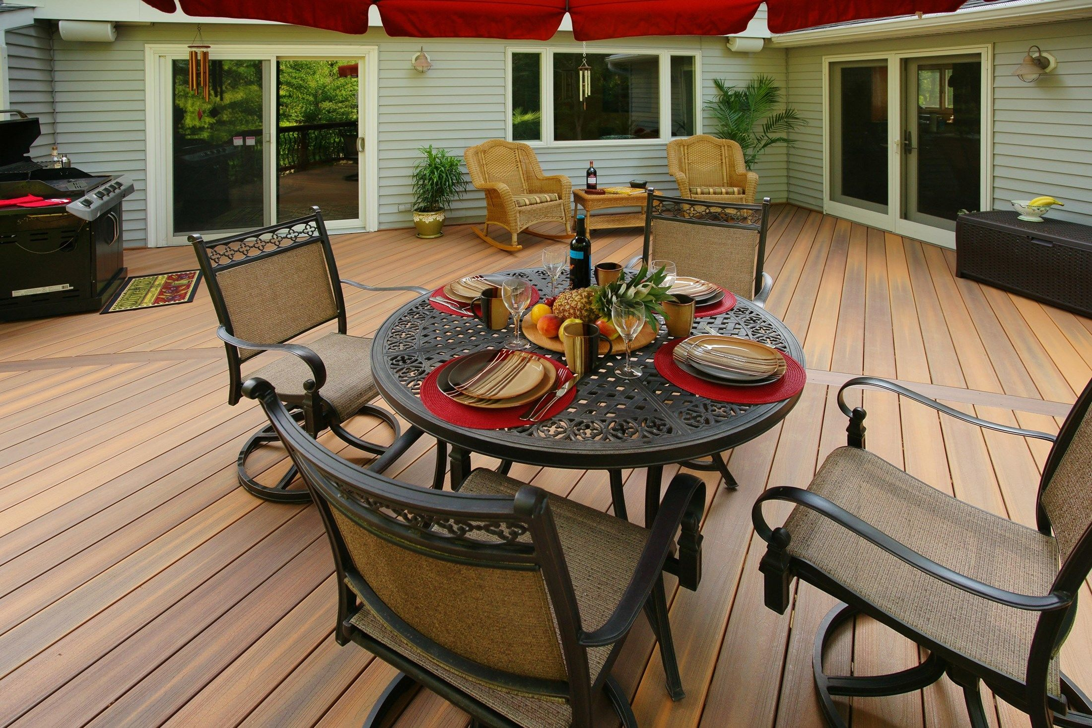 Davidson curved deck - Picture 1424