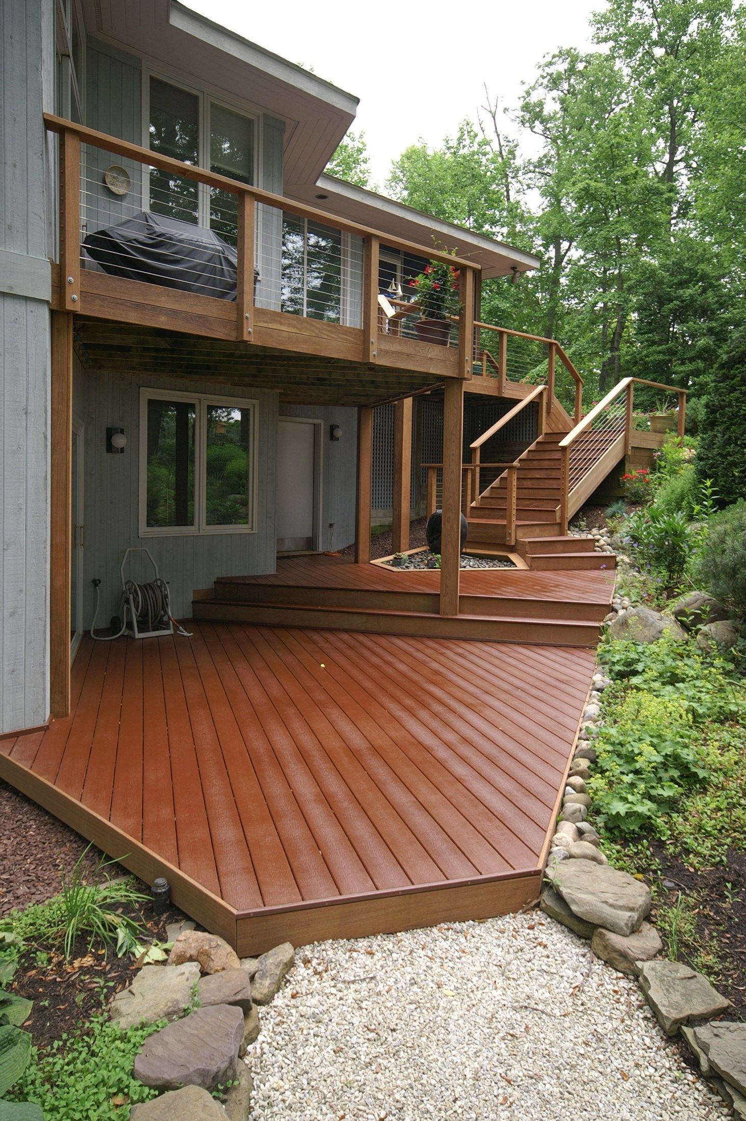Tiered, Split-Level & Multi-Level Deck Ideas & Pictures