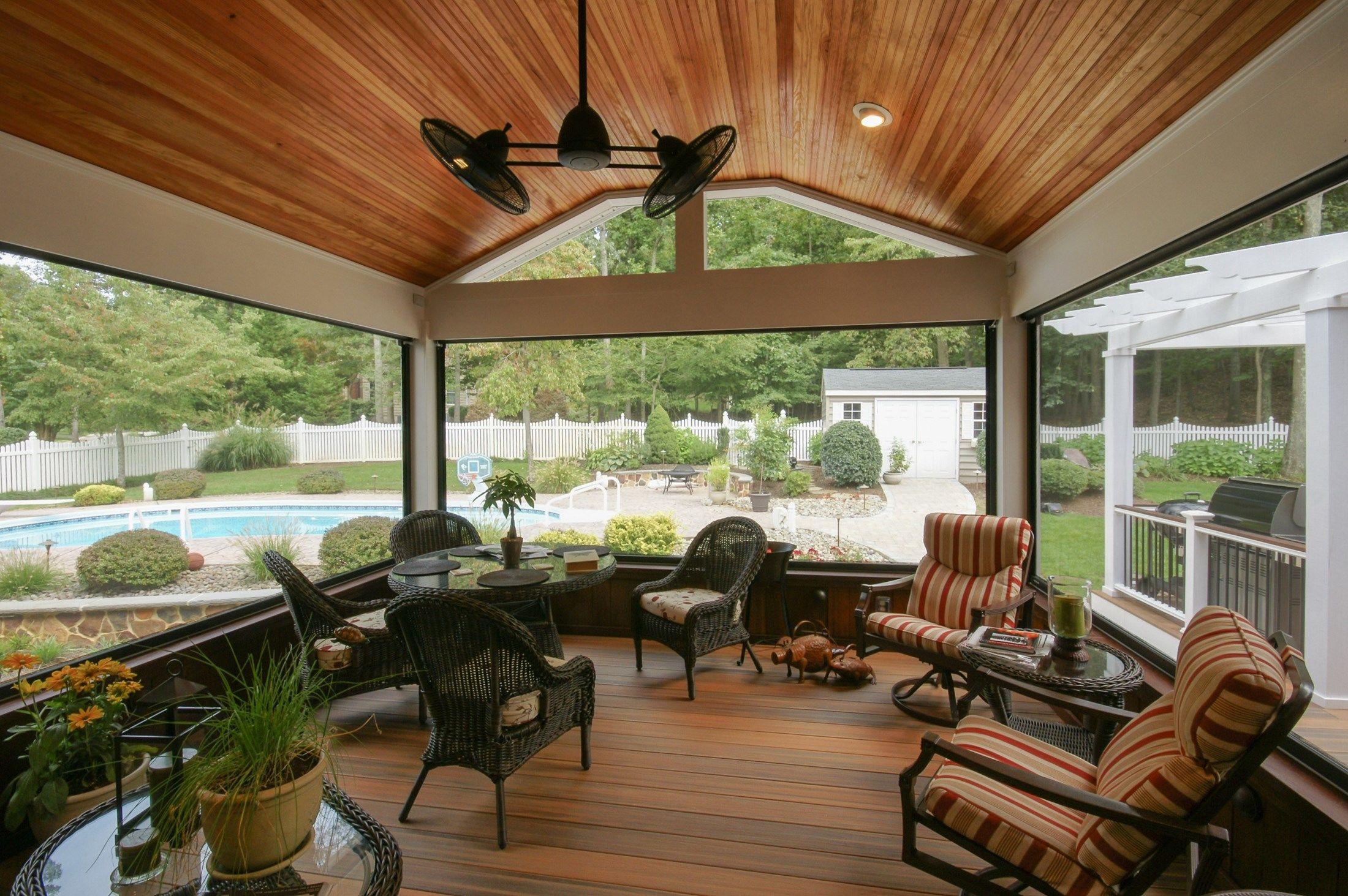Davidsonville Porch - Picture 1534