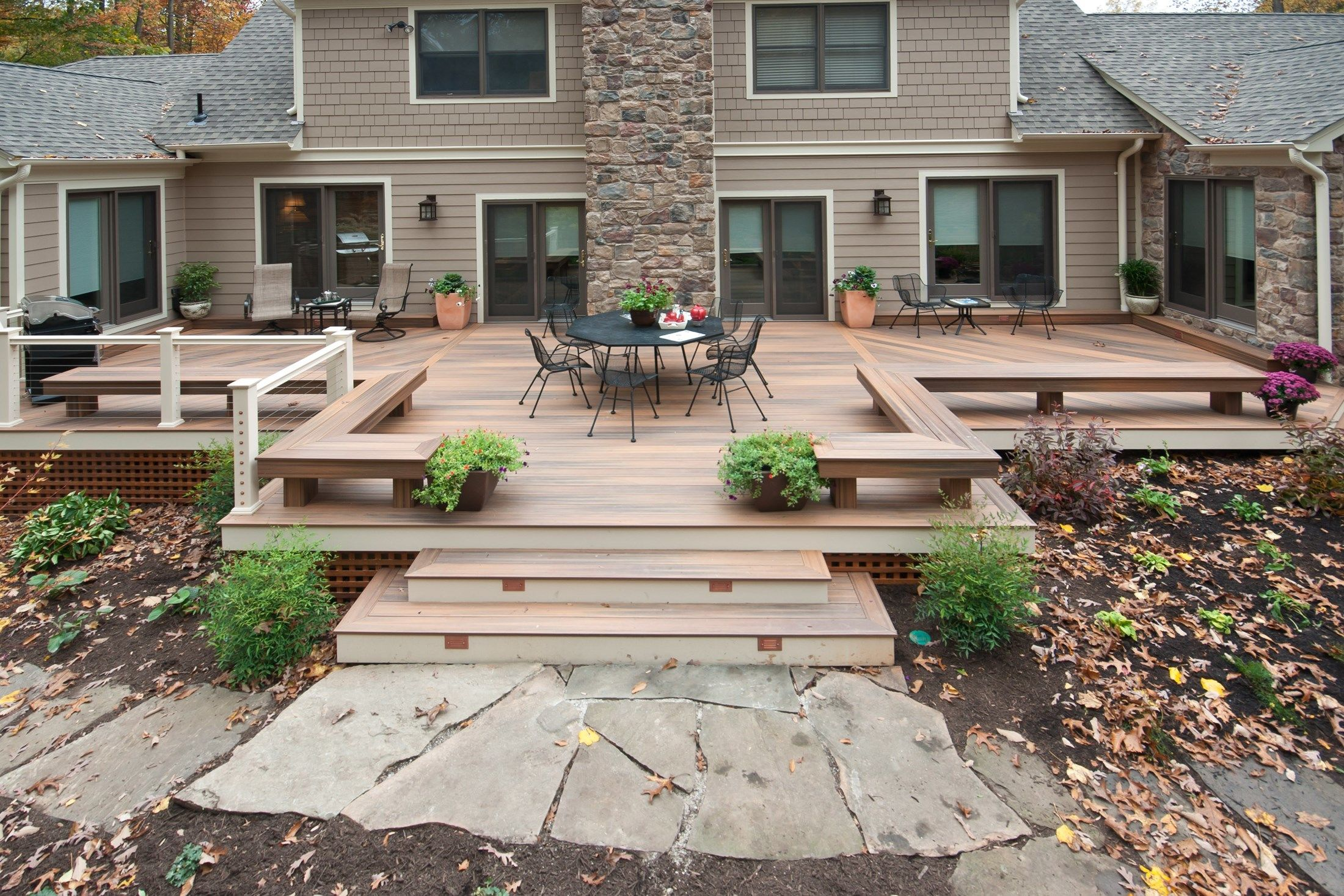 10 tips for designing a great deck for Backyard deck pictures