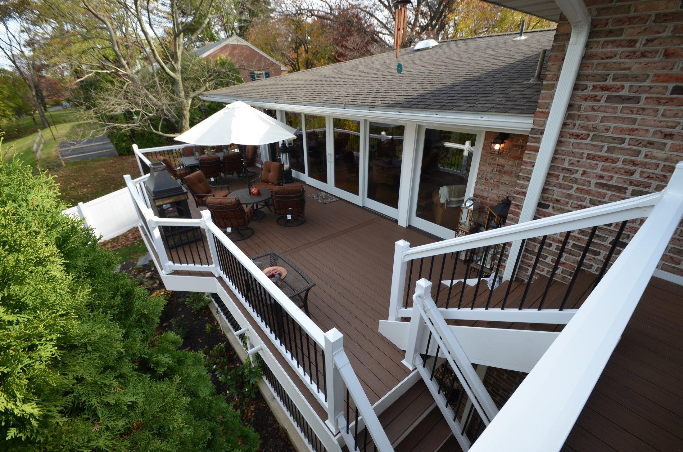 Multi Level Deck - Picture 1779