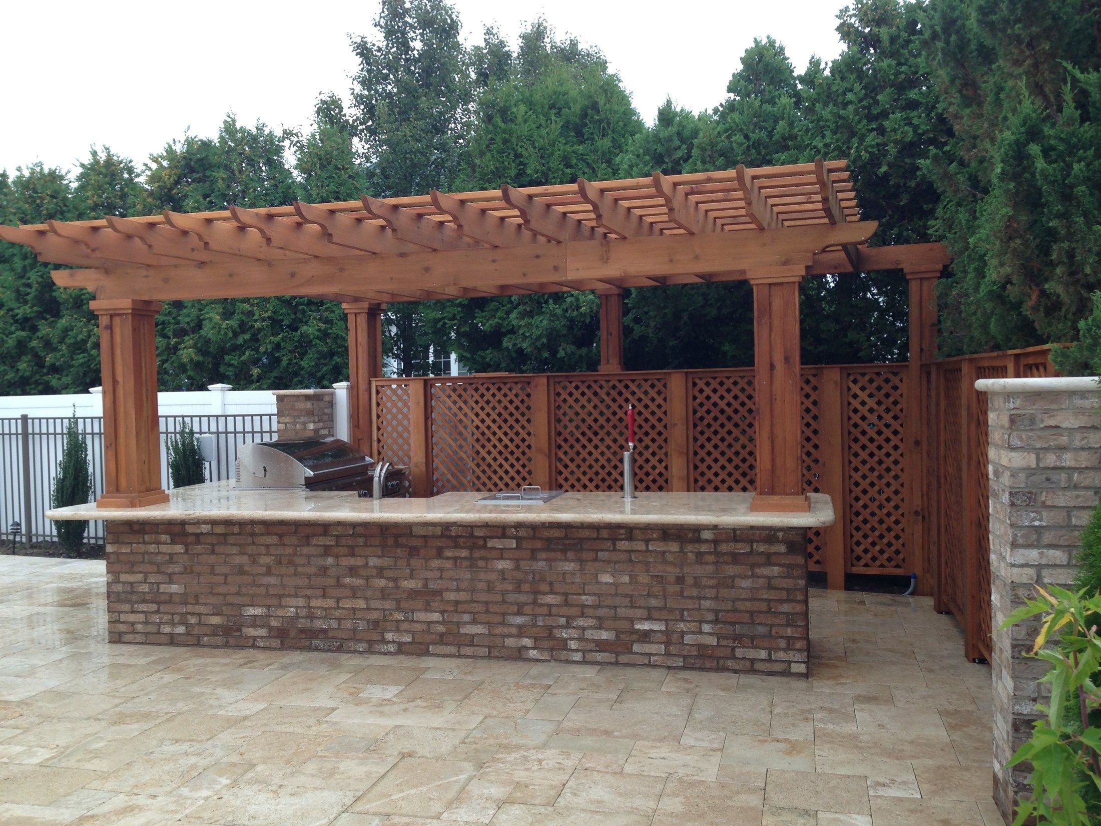 Outdoor Kitchen & Pergola - Picture 1879