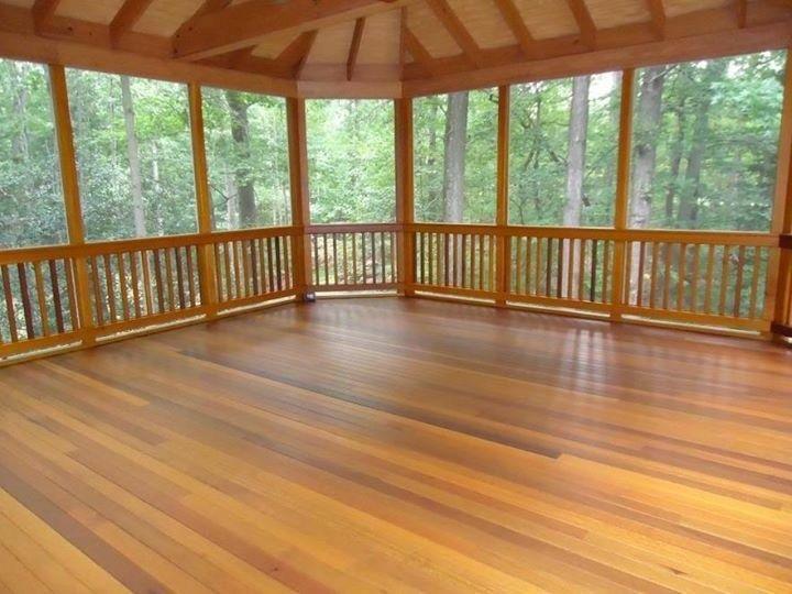 Cedar Porch Picture 2014 Decks Com