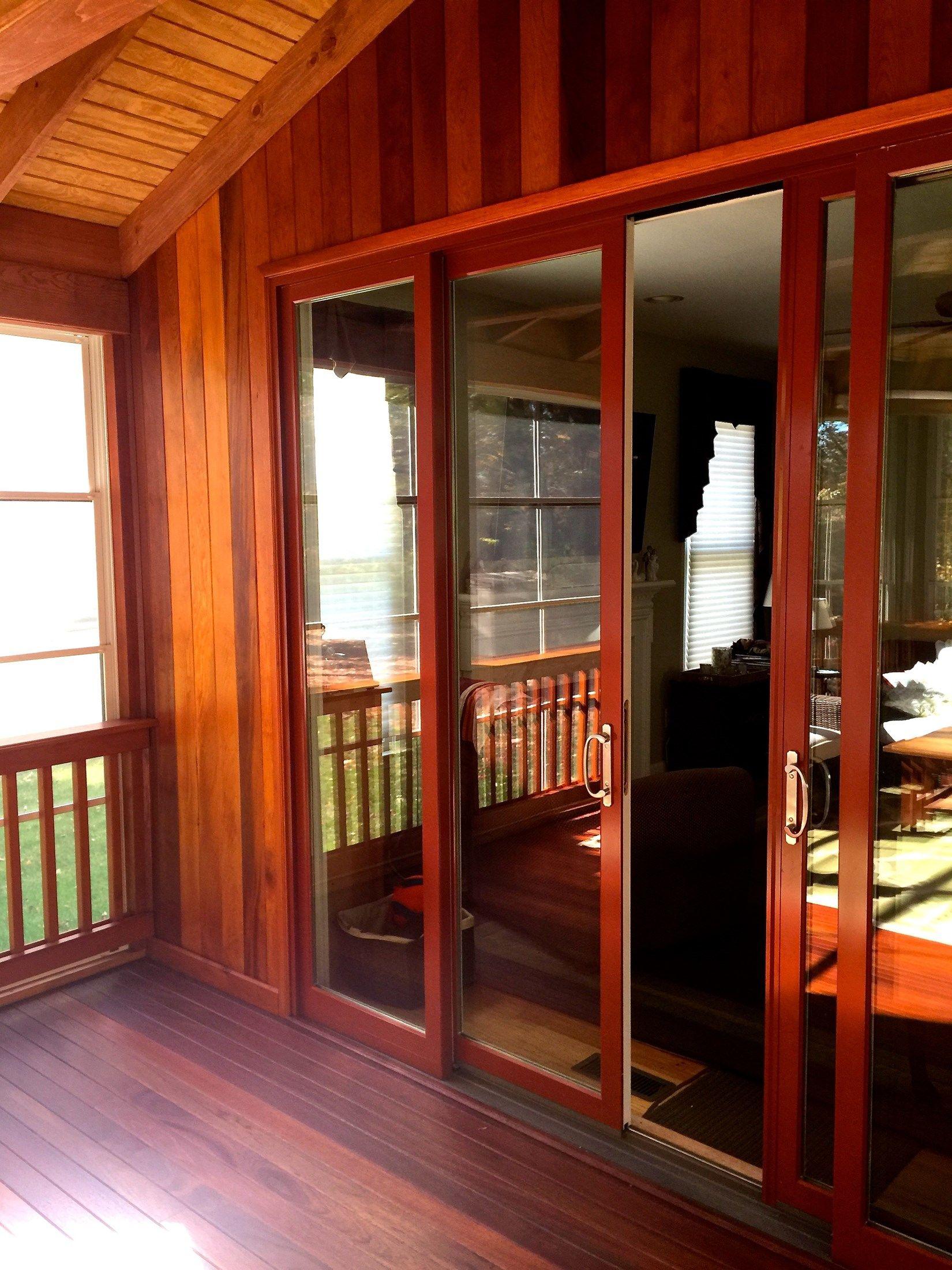 Cedar Screen Porch - Picture 2044