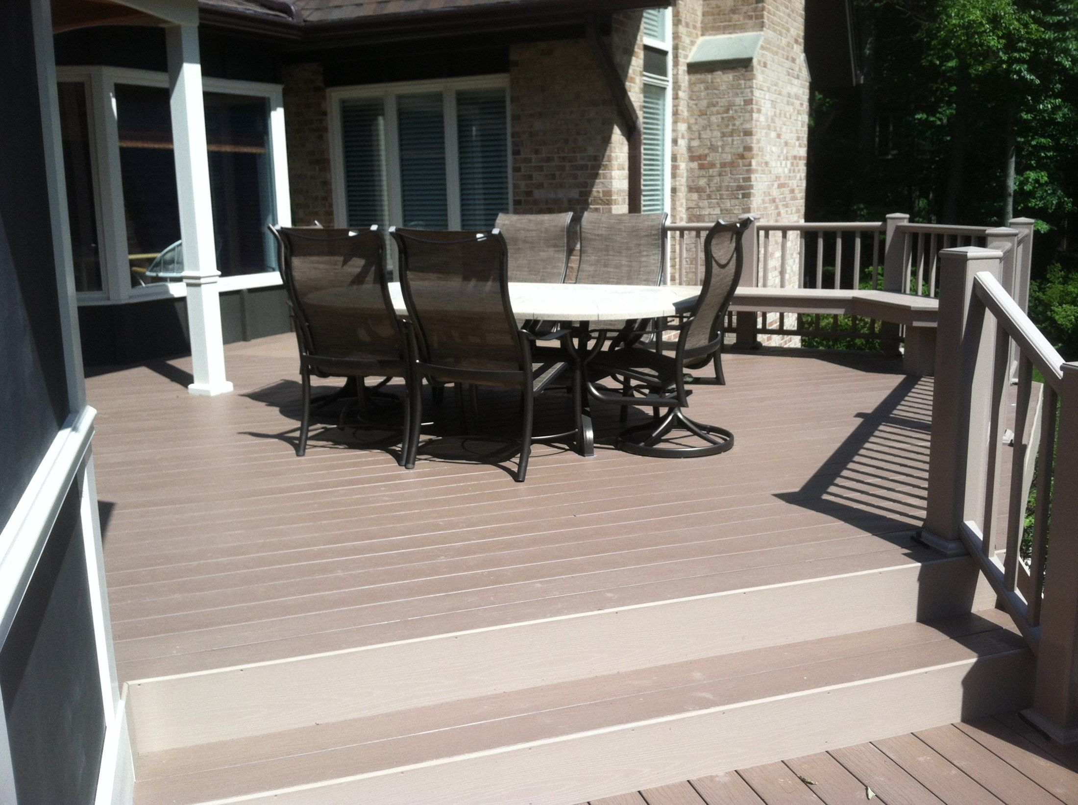 Deck and Screen Porch - Picture 2055