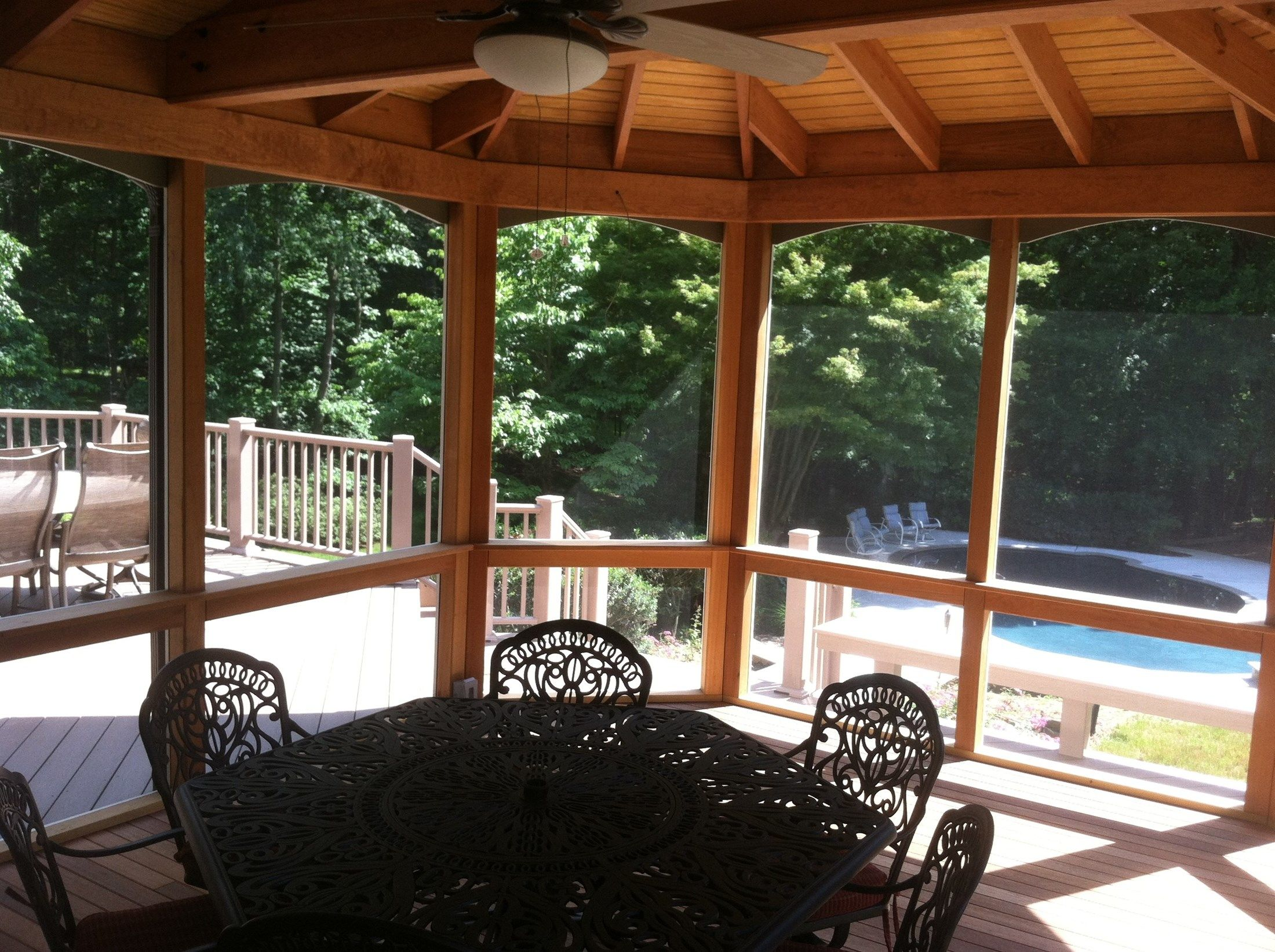 Deck and Screen Porch - Picture 2057