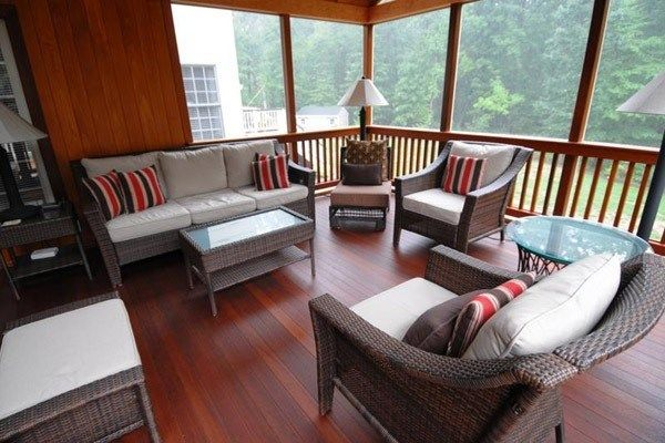 Cedar and Mahogany Porch - Picture 2066