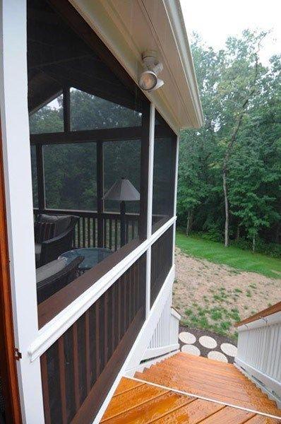 Cedar and Mahogany Porch - Picture 2068
