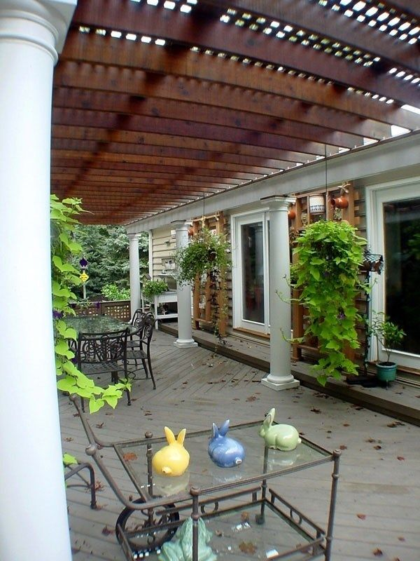 Deck with Arbor/Trellis - Picture 2103