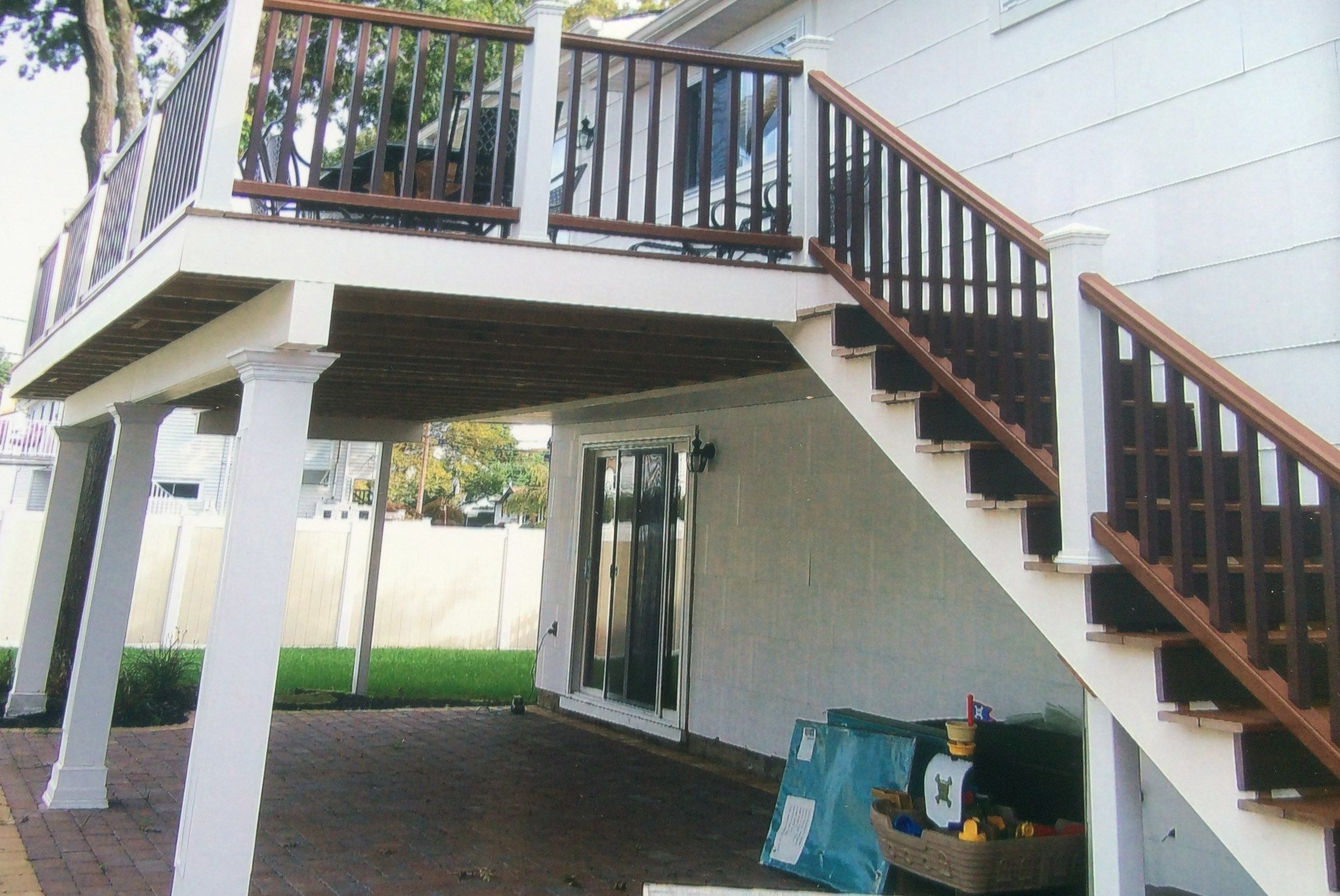 Timbertech Second Story Deck - Picture 3190