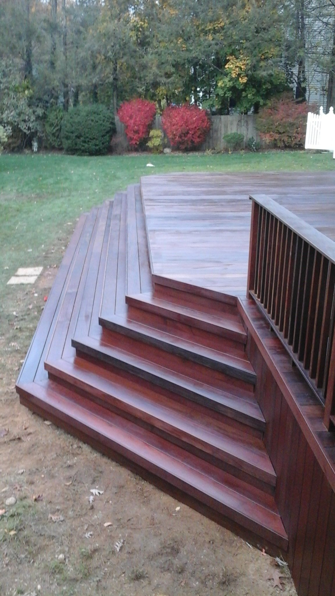 Deck in Cold Spring Harbor, NY - Picture 3207