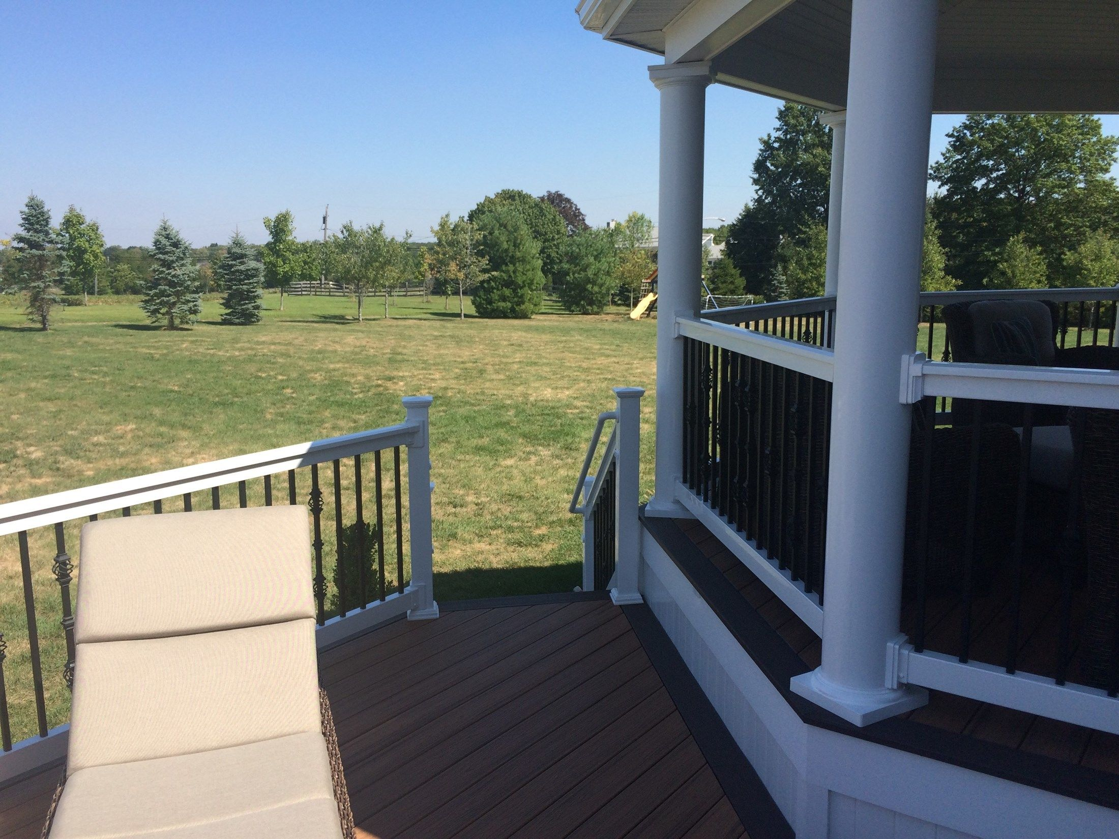 Custom Roofed Deck in Monroe NJ - Picture 3227