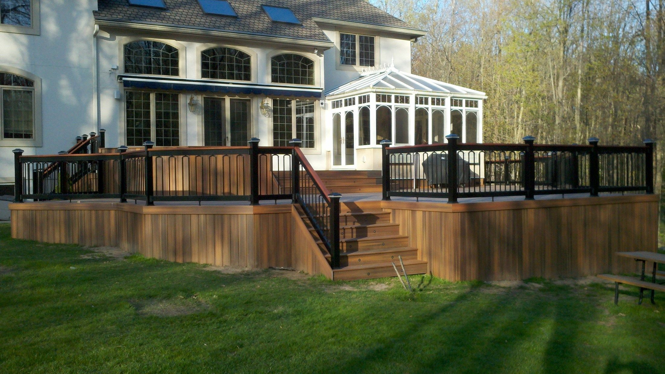 Custom Deck In Florham Park NJ