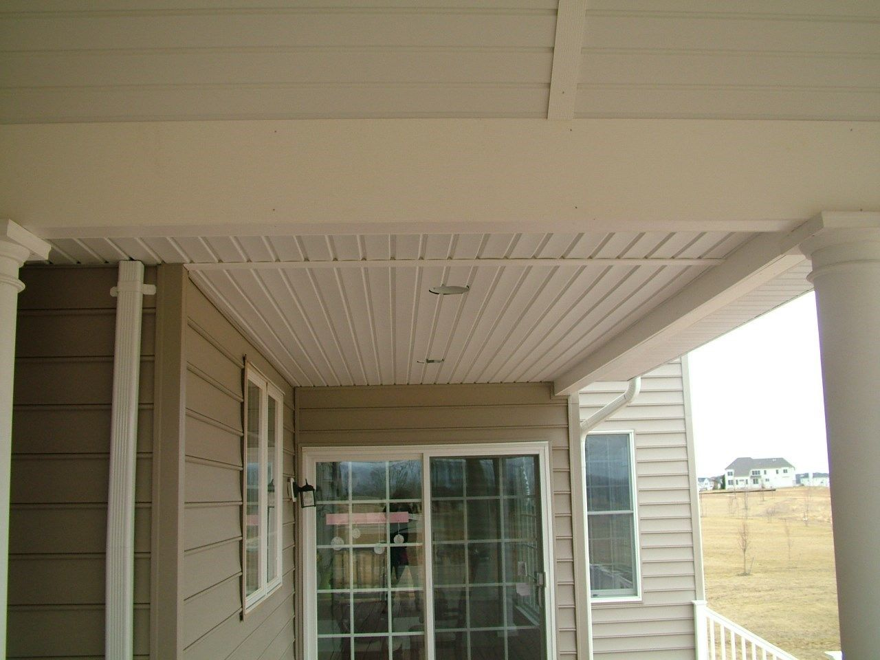 Custom Roofed deck in Upper Freehold NJ - Picture 3248