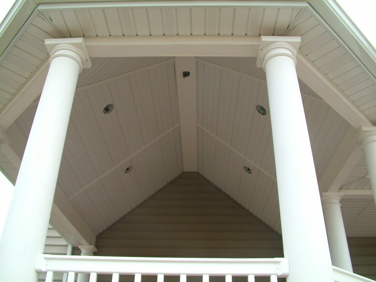 Custom Roofed deck in Upper Freehold NJ - Picture 3250