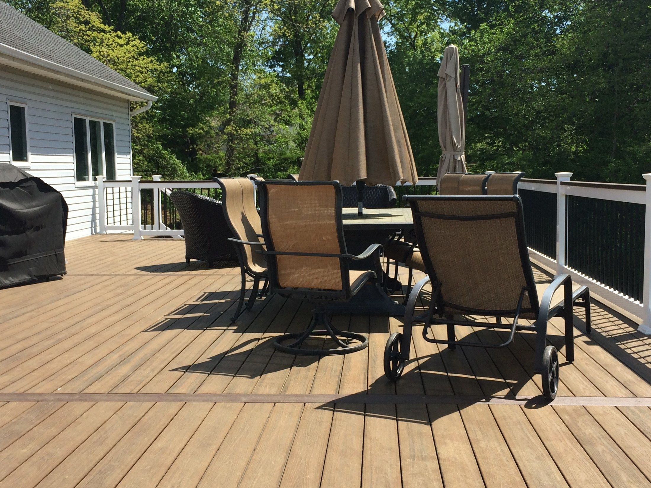 Custom Deck in Manalapan NJ - Picture 3257