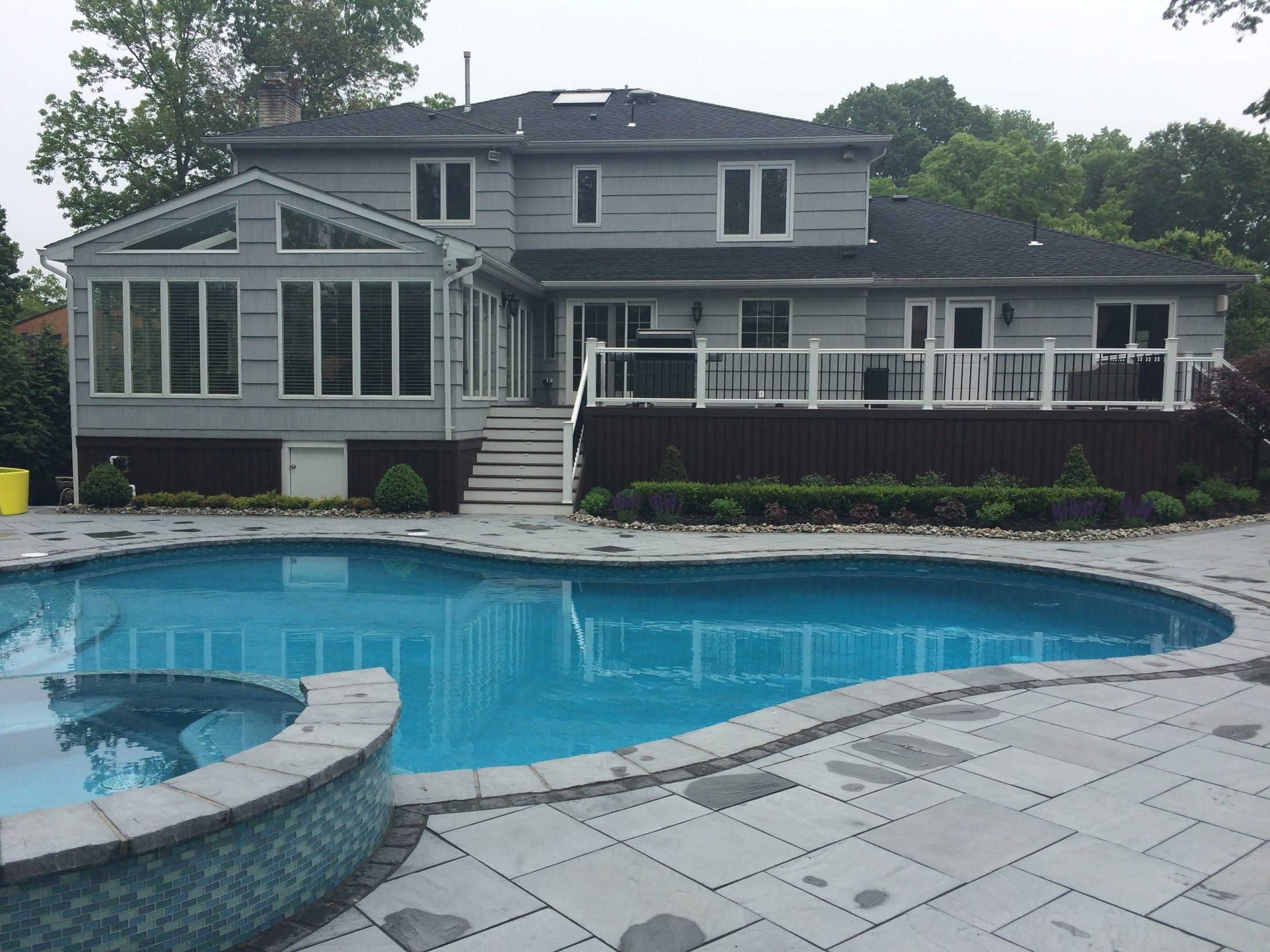 Custom Deck in Marlboro N.J. - Picture 3262