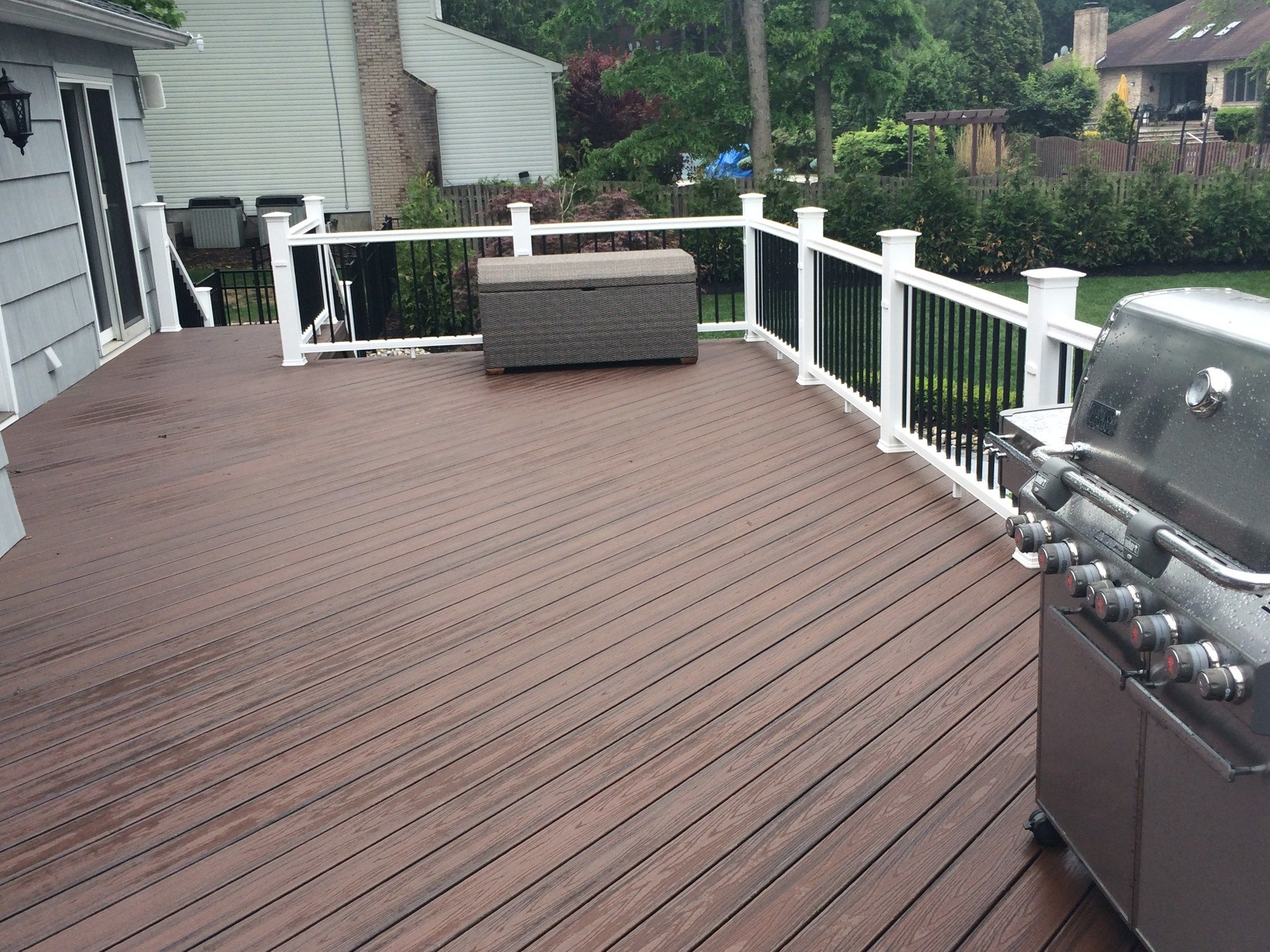 Custom Deck in Marlboro N.J. - Picture 3264