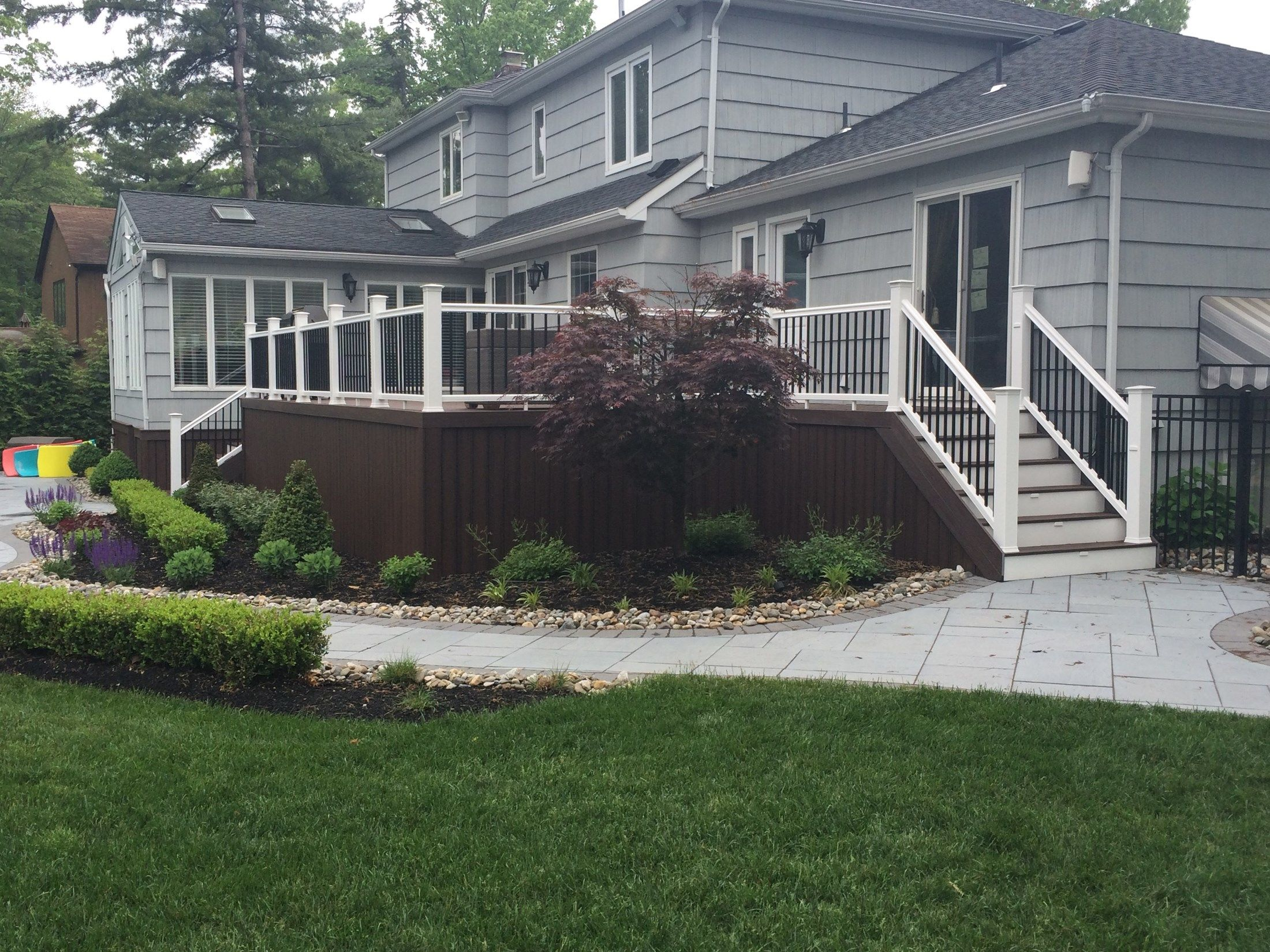 Custom Deck in Marlboro N.J. - Picture 3265