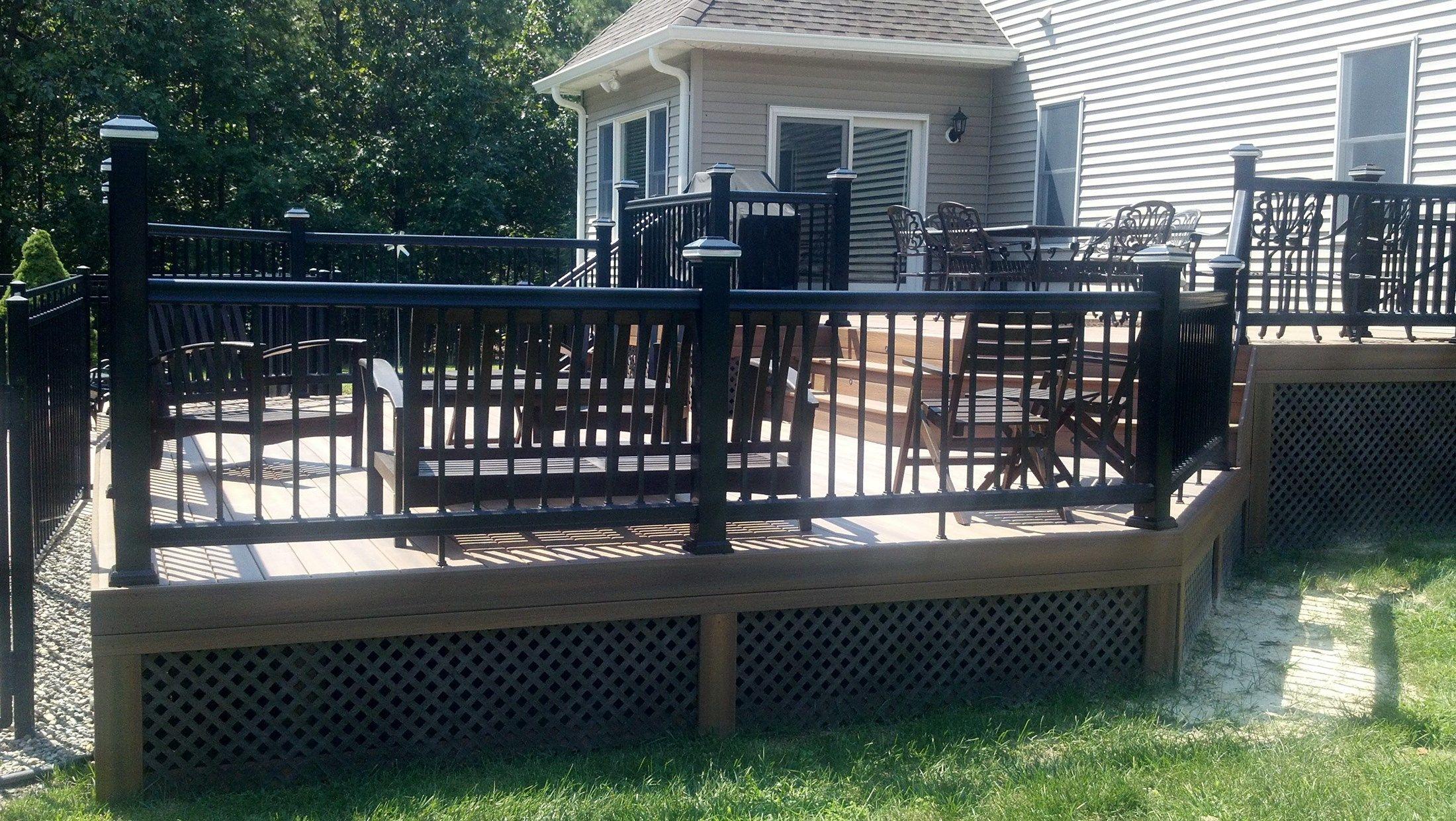 Custom deck in Millstone N.J. - Picture 3285