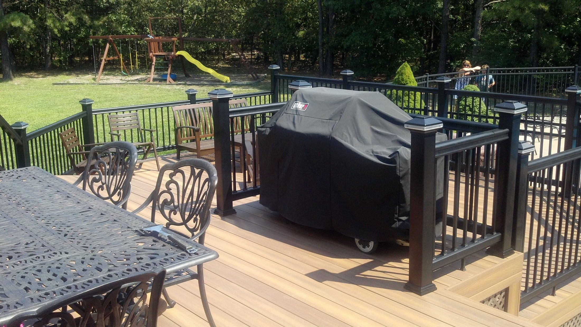 Custom deck in Millstone N.J. - Picture 3287