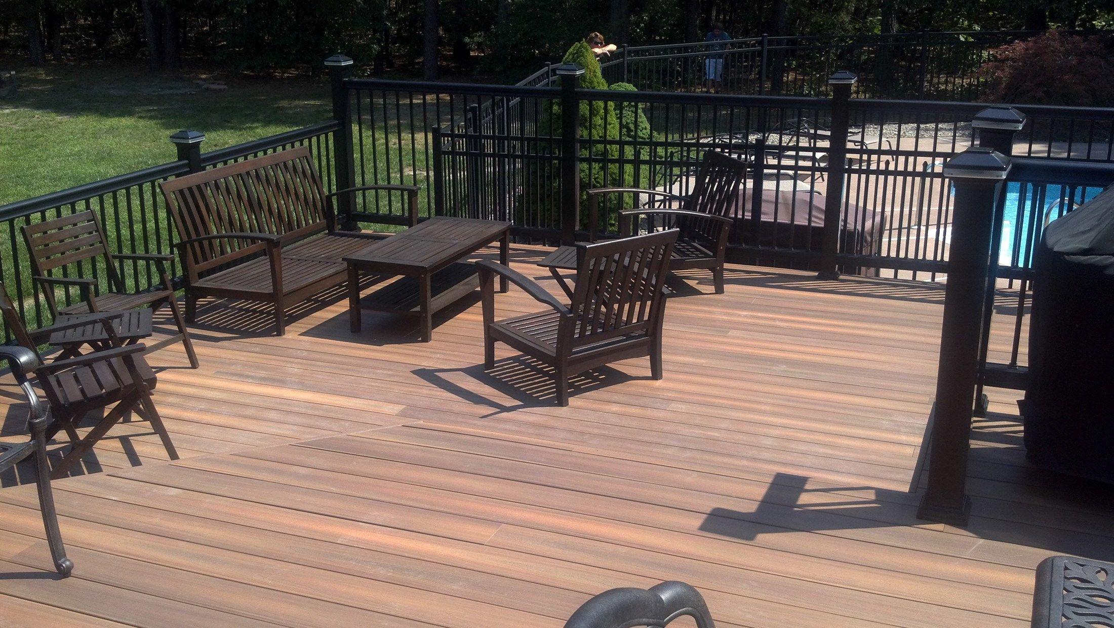 Custom deck in Millstone N.J. - Picture 3290