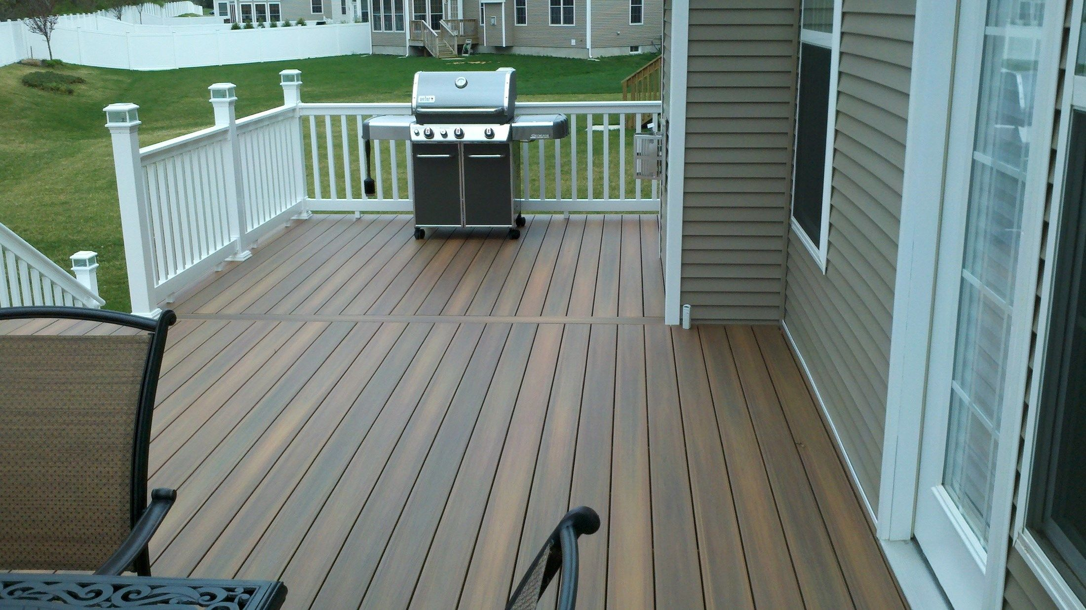 Custom Deck in Manalapan N.J. - Picture 3320
