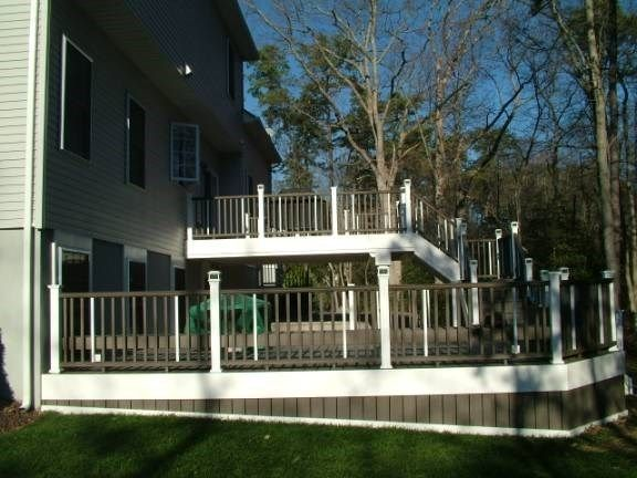 Custom Deck in Howell N.J. - Picture 3324