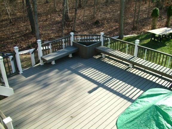 Custom Deck in Howell N.J. - Picture 3325