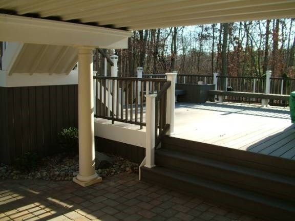 Custom Deck in Howell N.J. - Picture 3328