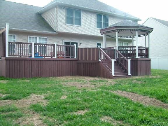 Custom Deck with Gazebo in Hamilton Nj - Picture 3329
