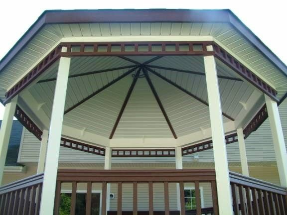 Custom Deck with Gazebo in Hamilton Nj - Picture 3333