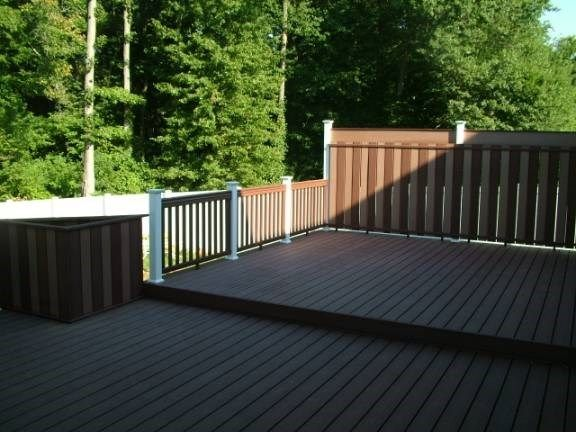 Custom Deck with Gazebo in Hamilton Nj - Picture 3334