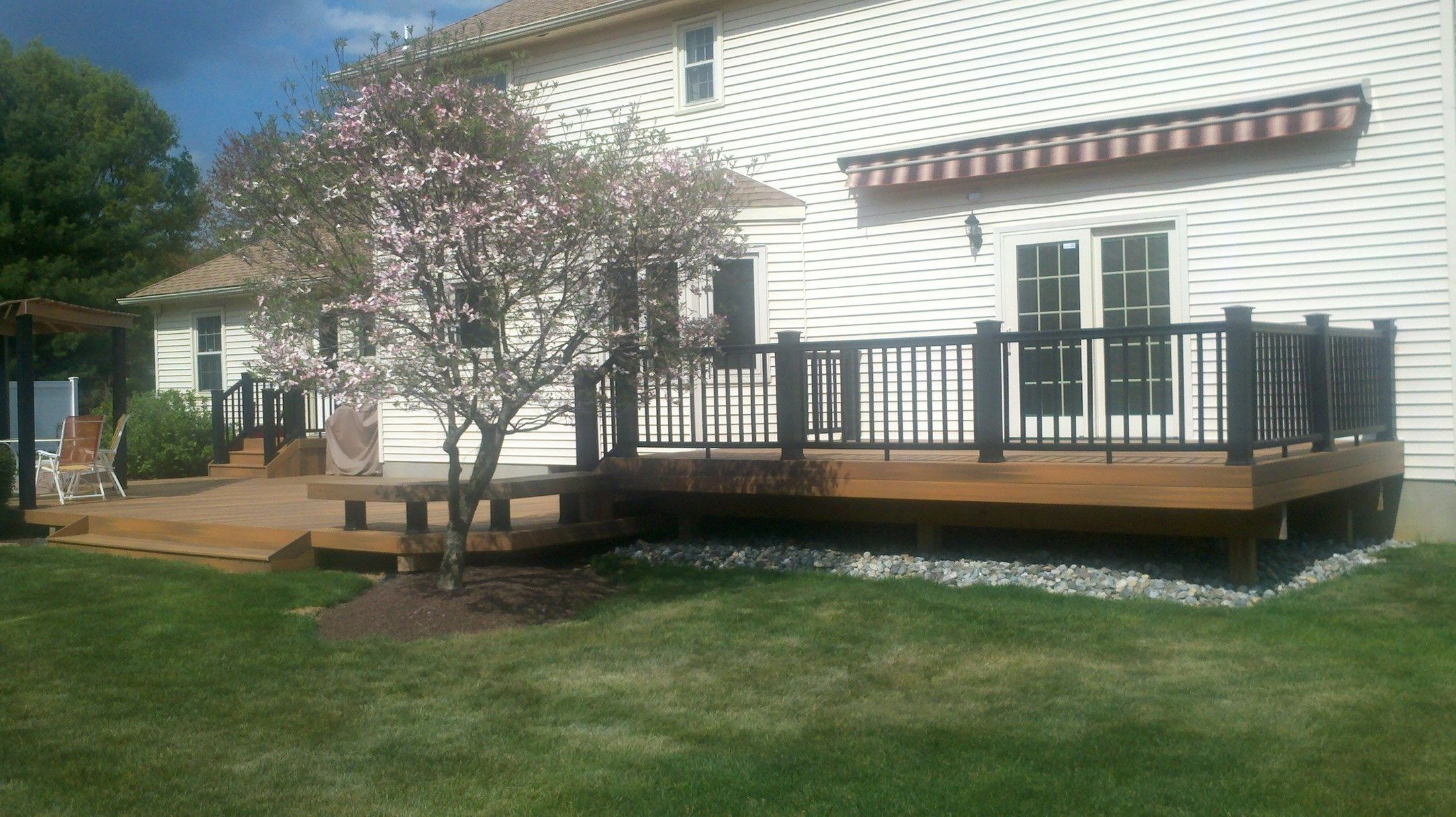 Custom Deck in Freehold N.J. - Picture 3335