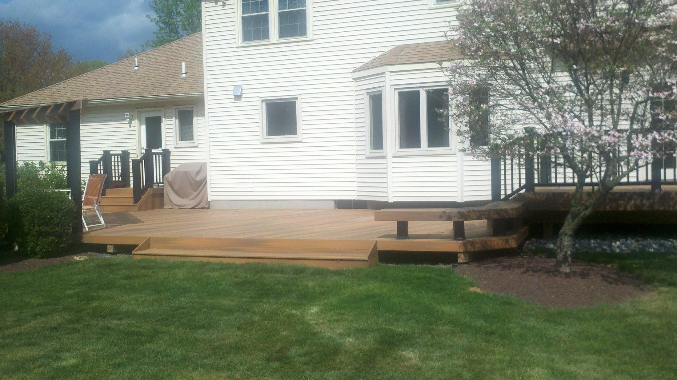 Custom Deck in Freehold N.J. - Picture 3336