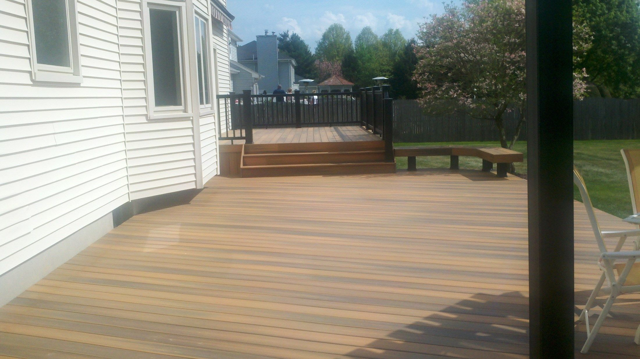 Custom Deck in Freehold N.J. - Picture 3342