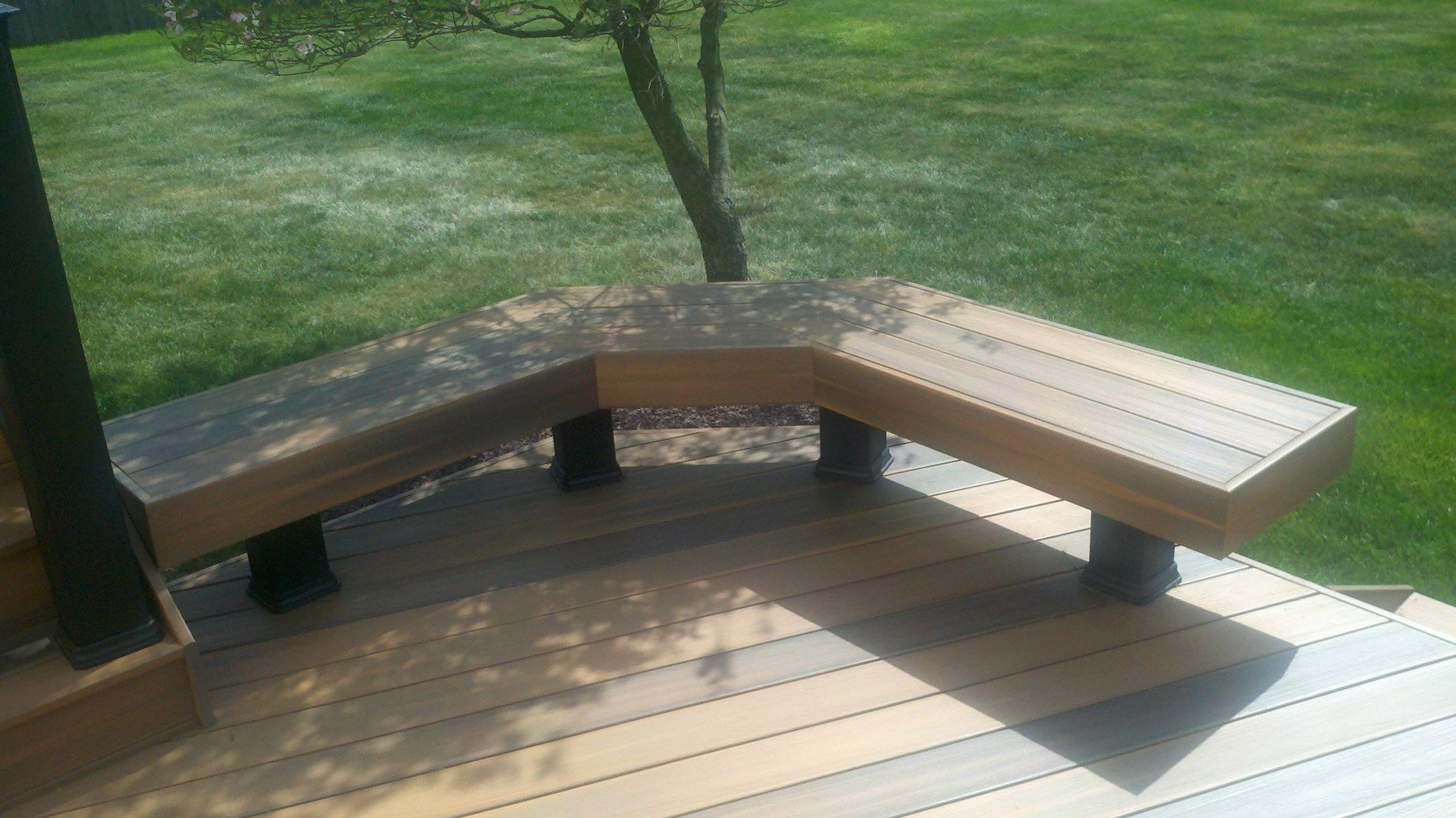 Custom Deck in Freehold N.J. - Picture 3343