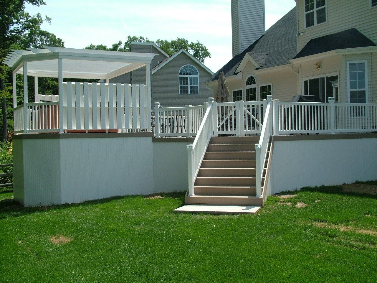 Custom Deck in Monroe NJ - Picture 3344