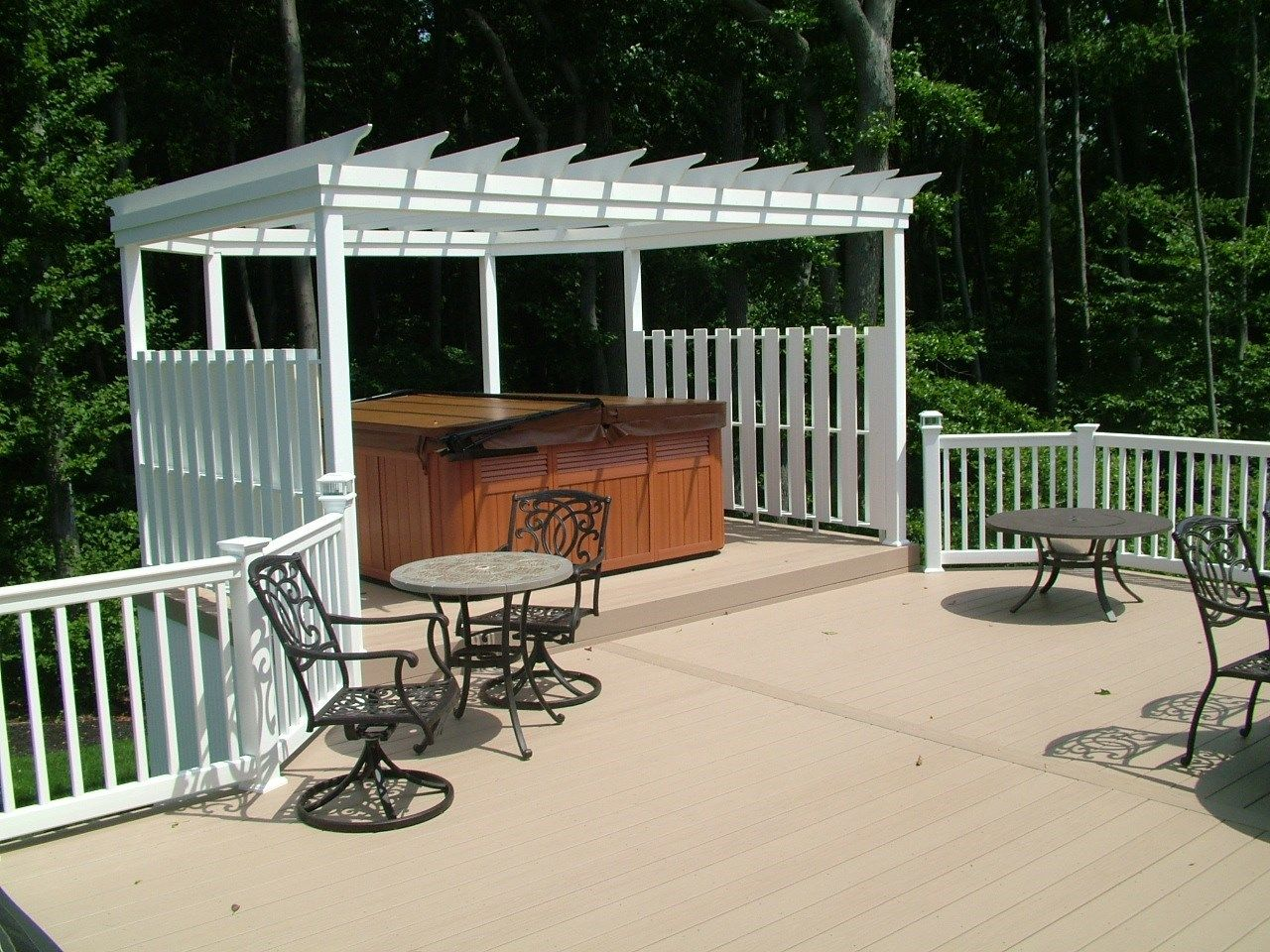 Custom Deck in Monroe NJ - Picture 3347