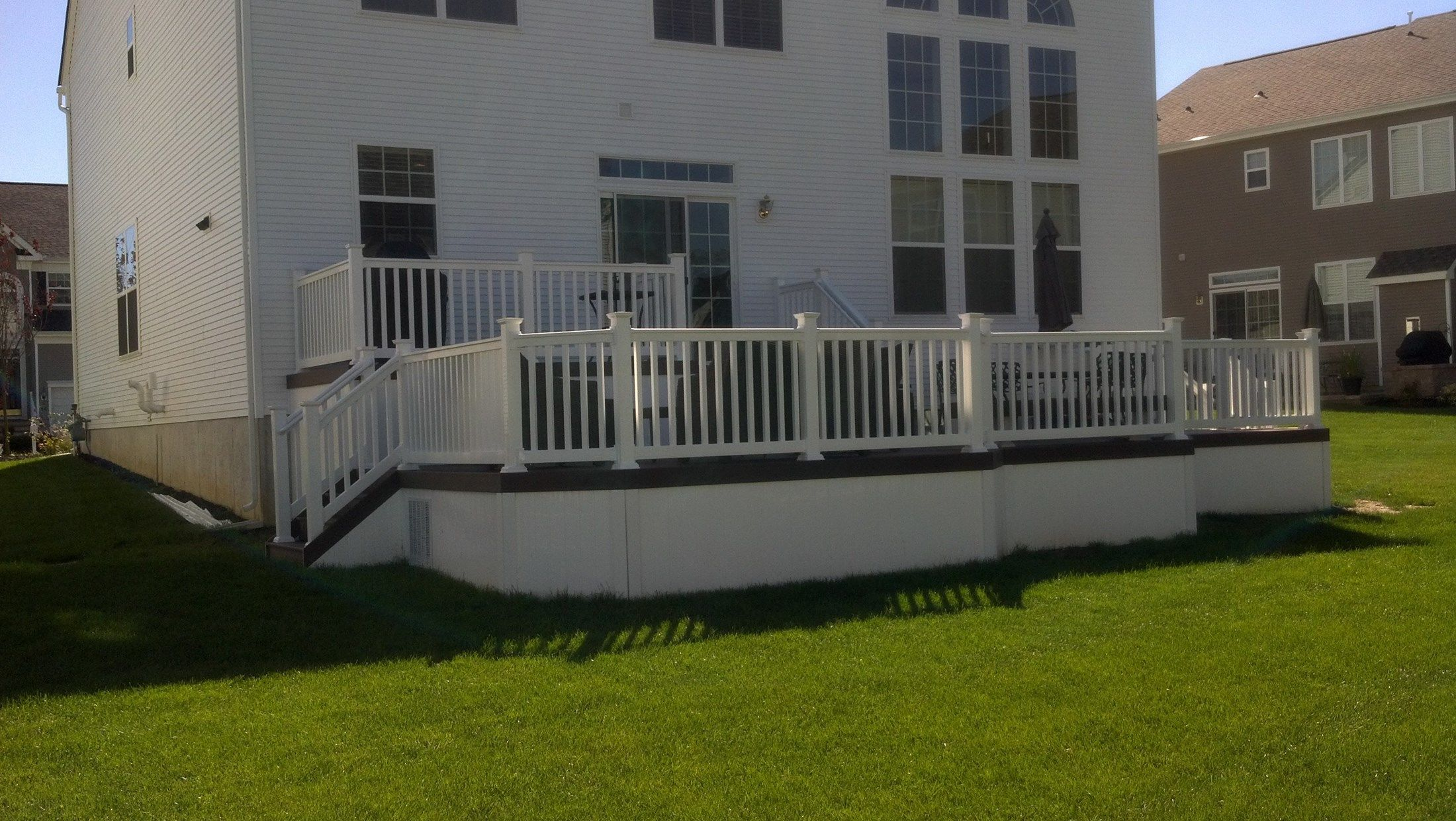 Custom Deck in Manalapan NJ - Picture 3350