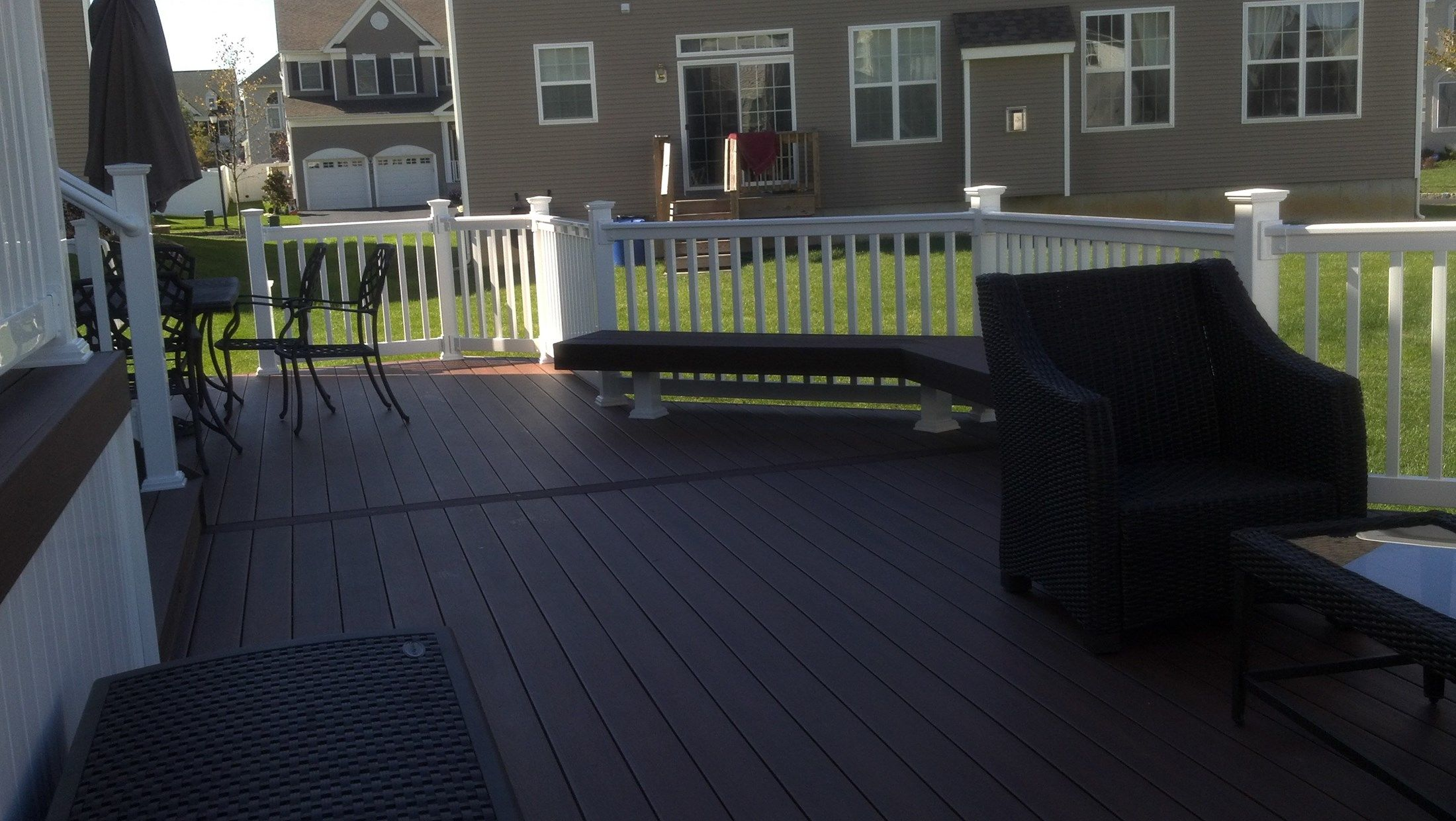 Custom Deck in Manalapan NJ - Picture 3353