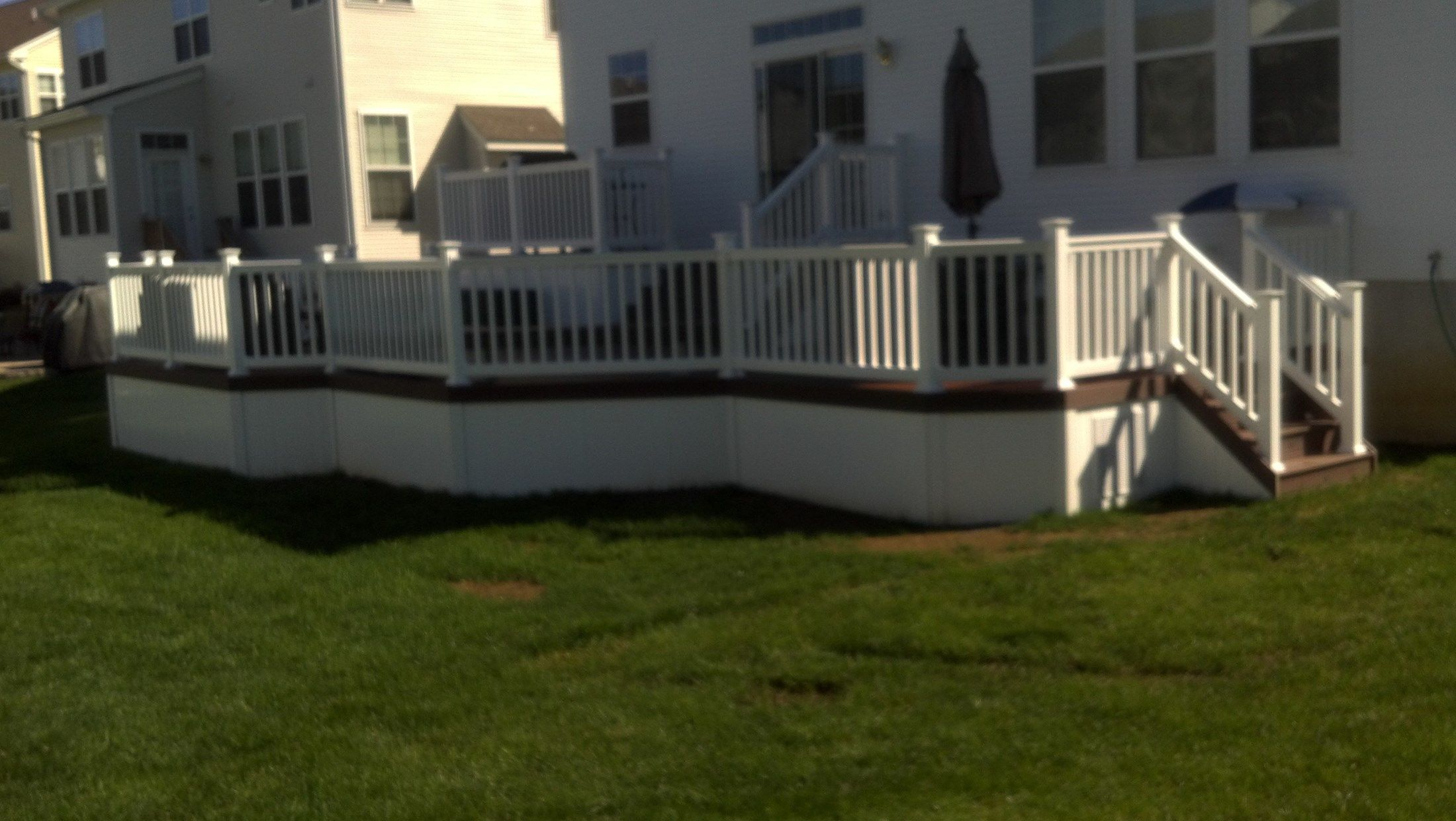 Custom Deck in Manalapan NJ - Picture 3354