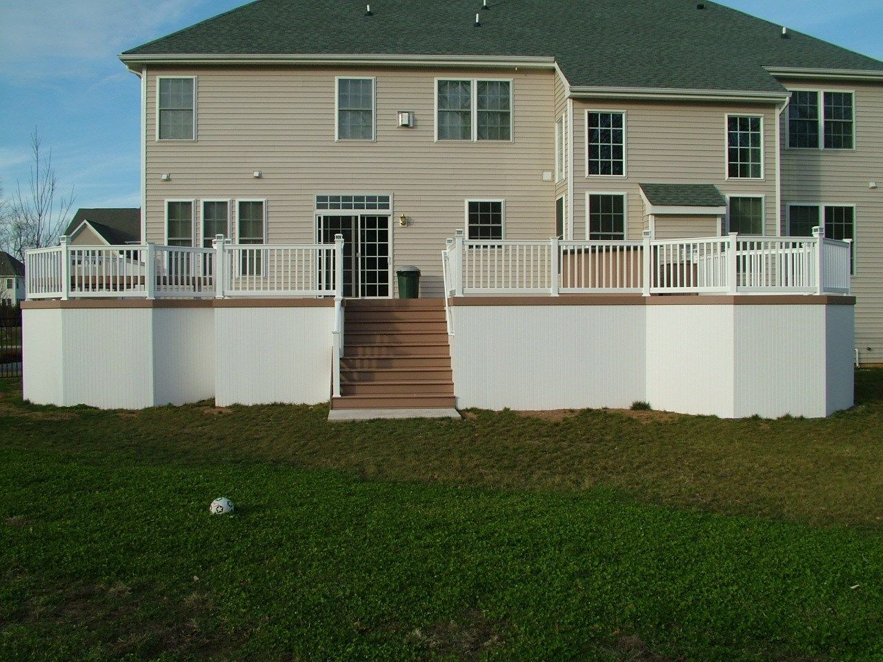 Custom Deck in Morganville N.J. - Picture 3355