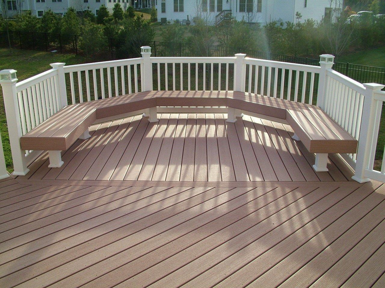 Custom Deck in Morganville N.J. - Picture 3359